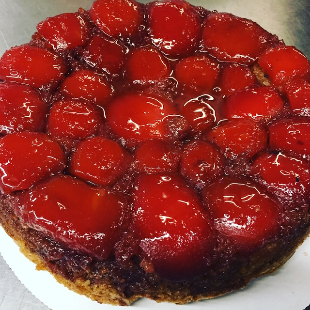 Quince Upside Down Cake